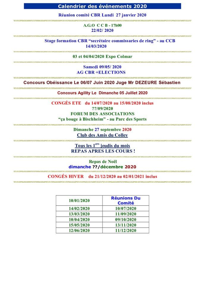 Calendrier Concours Obeissance 2021 Club Canin de Bischheim   Agenda google du CCB  Calendrier du CCB